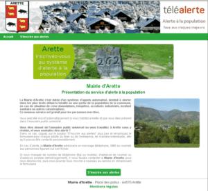 Read more about the article Formulaire d'inscription volontaire au système de téléalerte