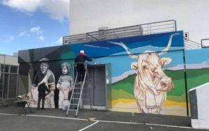 Read more about the article Oeuvre élaborée sur un mur